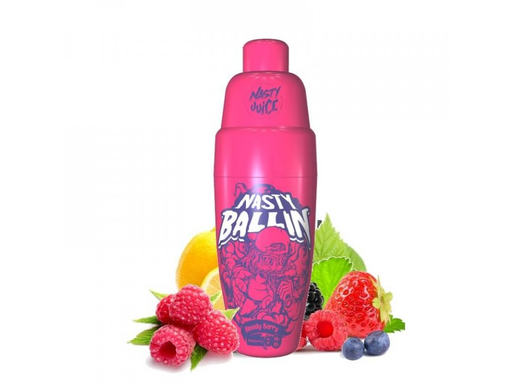 shortfill nasty juice bloody berry 50 ml eliquid