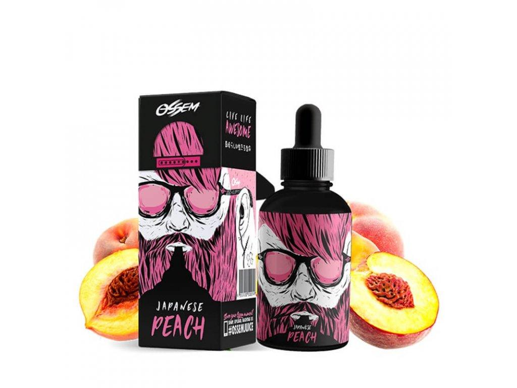 shortfill ossem juice fruity japanese peach