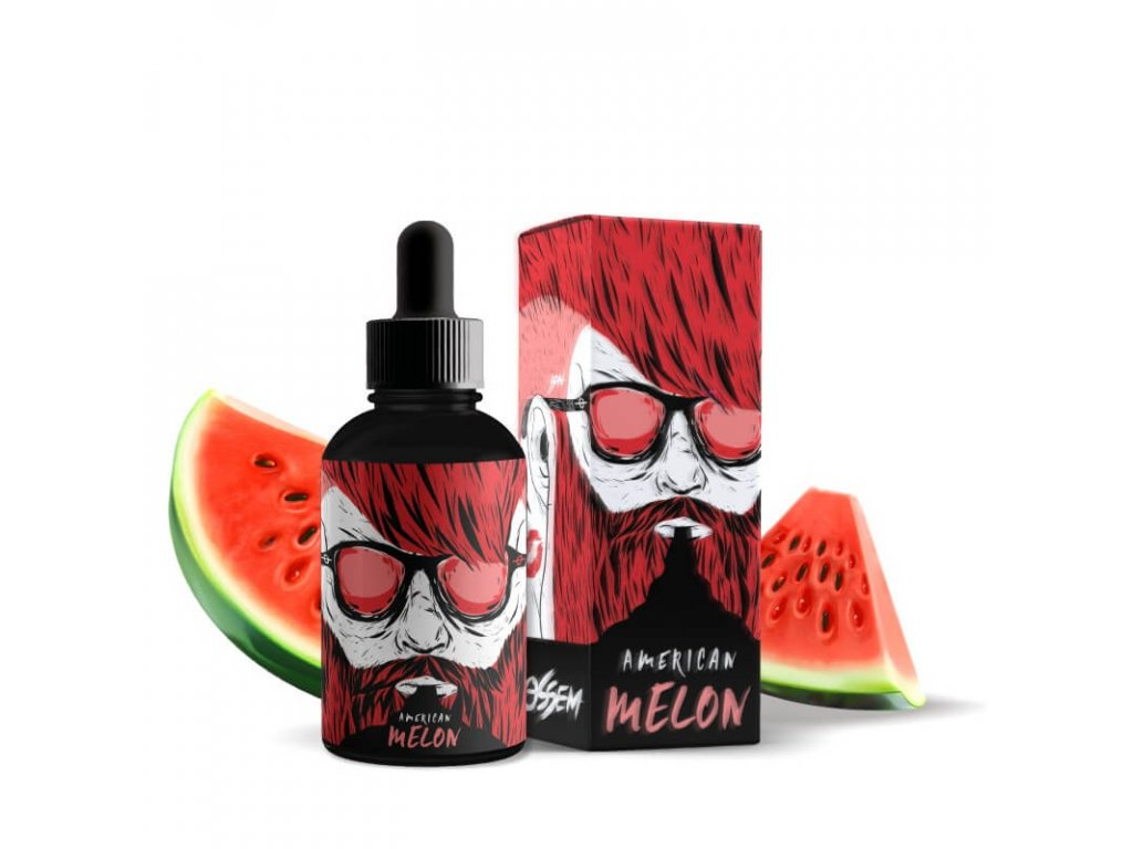 shortfill ossem juice fruity american melon
