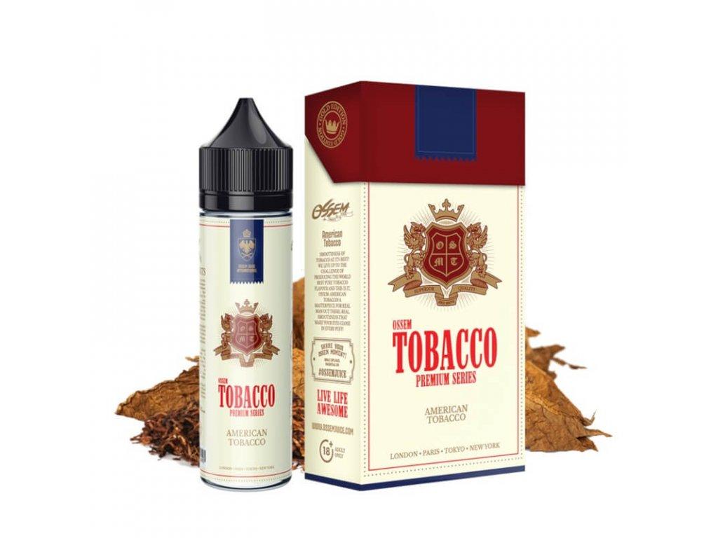 shortfill ossem juice tobacco american