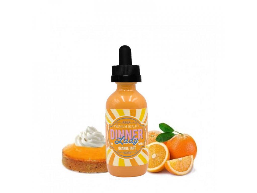 shortfill 50ml dinner lady orange tart