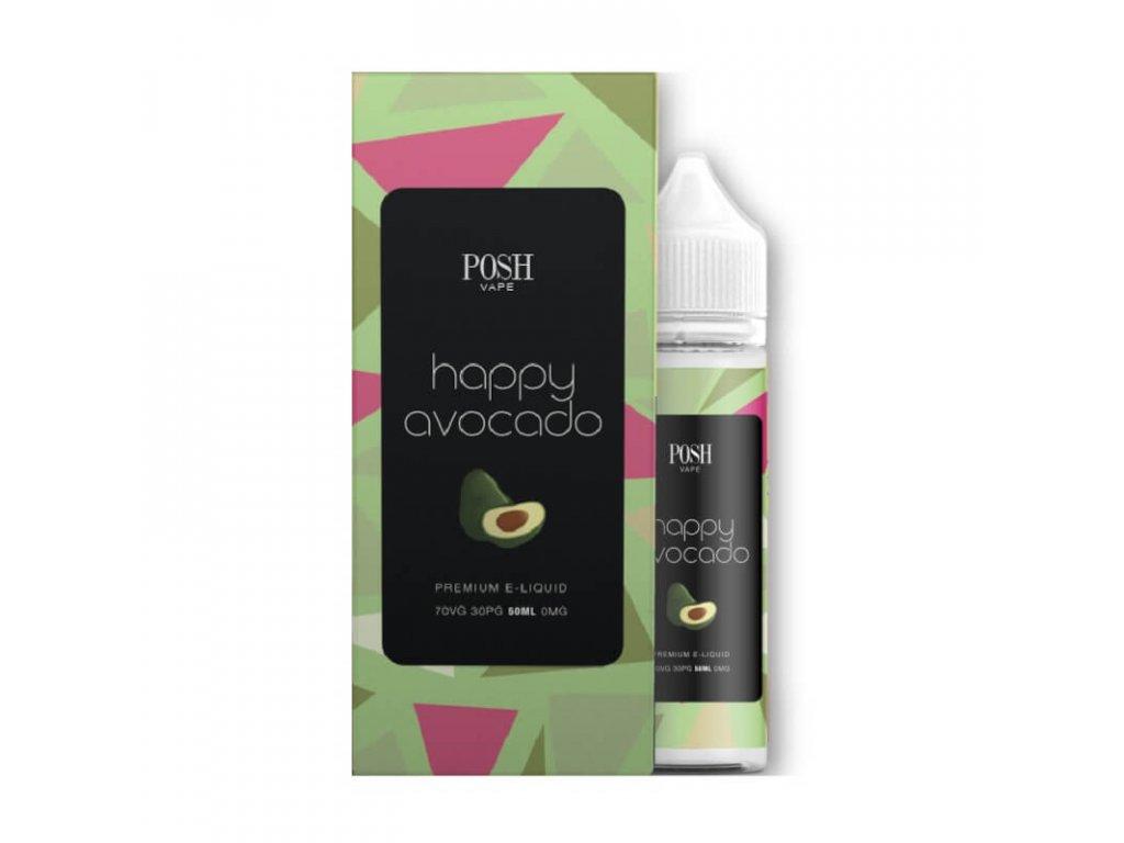 happy avocado short fill posh vape
