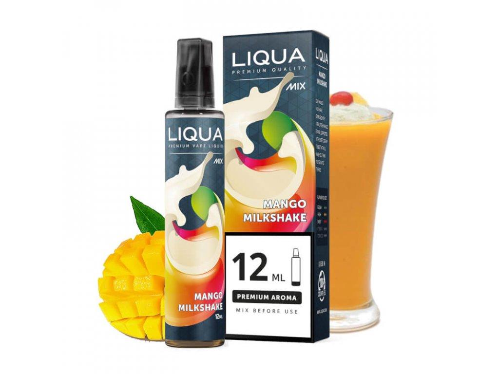 12 ml longfill prichut mango milkshake
