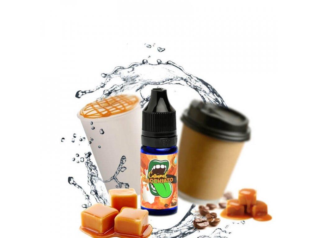 big mouth koncentrovana prichut 10 ml caramel macchiato