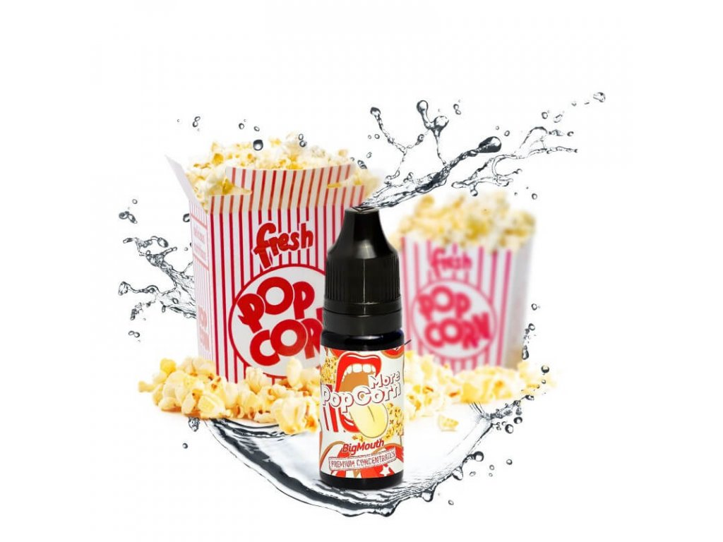 big mouth koncentrovana prichut 10 ml more popcorn