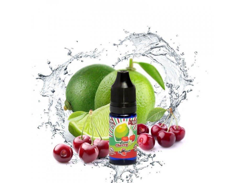 big mouth koncentrovana prichut 10 ml lime cherry