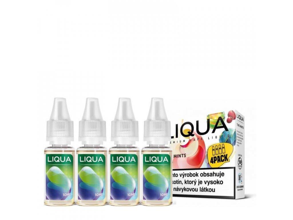 liqua two mints 4pack 4x10ml