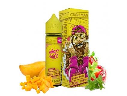 20 ml longfill prichut nasty juice cush mango strawberry
