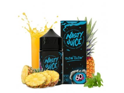 shortfill nasty juice slow blow 50 ml eliquid