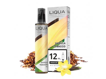 12 ml longfill prichut liqua vanilla tobacco