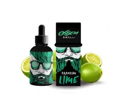 shortfill ossem juice fruity brazilian lime