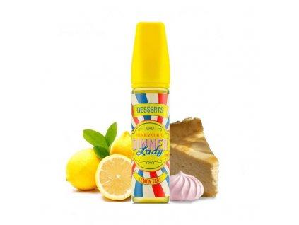 shortfill 50ml dinner lady lemon tart