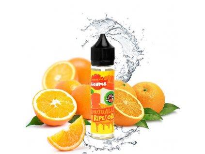 unusually ripe orange