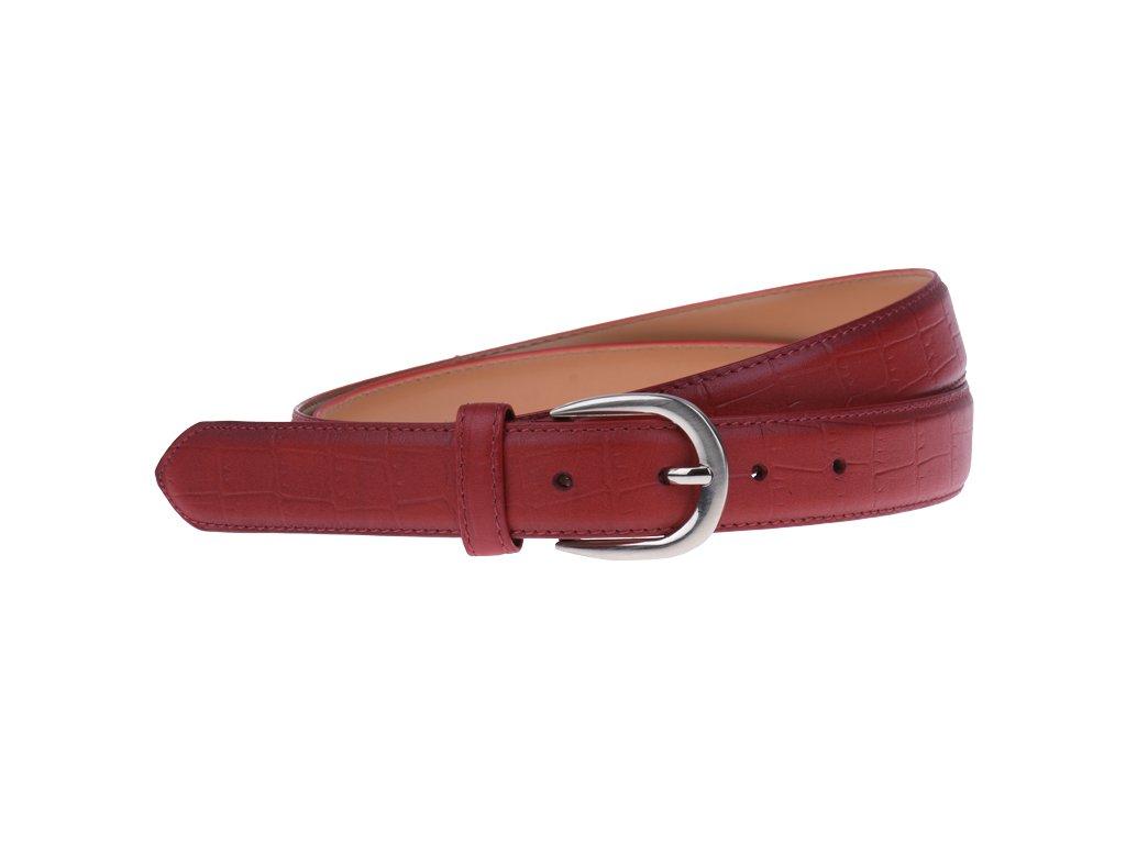 Cintura Cocco (2,9 cm) (Barva pásku červená)