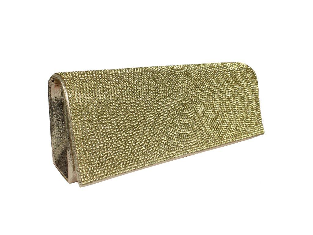 Plesová kabelka MQ20277 Gold