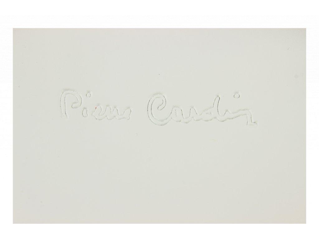 ... Italská kožená kabelka Pierre Cardin 1531 Ruga Bianco e71e65cff33
