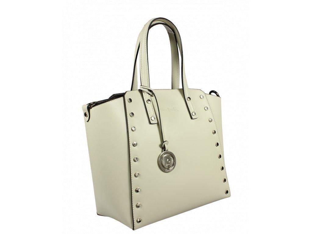 4020523ec4 ... Italská kožená kabelka Pierre Cardin 1531 Ruga Ghiaccio ...