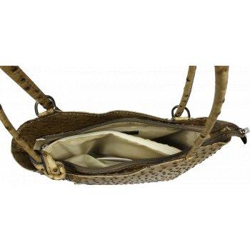 Kabelka batůžek Clarise Struzza Taupe
