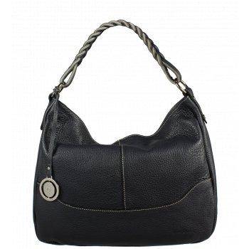 Italská kožená kabelka Pierre Cardin 5320 Dollaro Navy