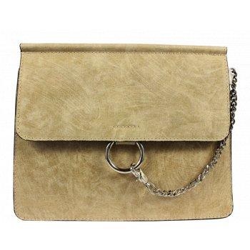 Italská kožená kabelka Pierre Cardin 1538 Sfera Beige