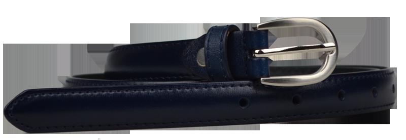 NovaKabelka.cz Cintura Sottile (2 cm) Barva pásku: modrá