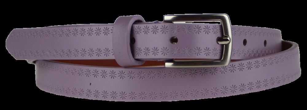 NovaKabelka.cz Cintura Stelle (2 cm) Barva pásku: fialová
