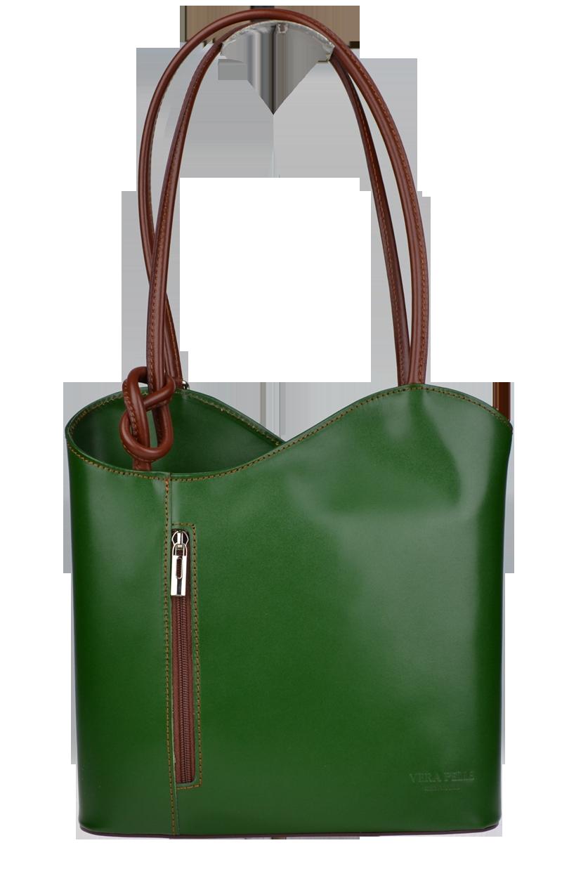 Kabelka batůžek Clarise Verde