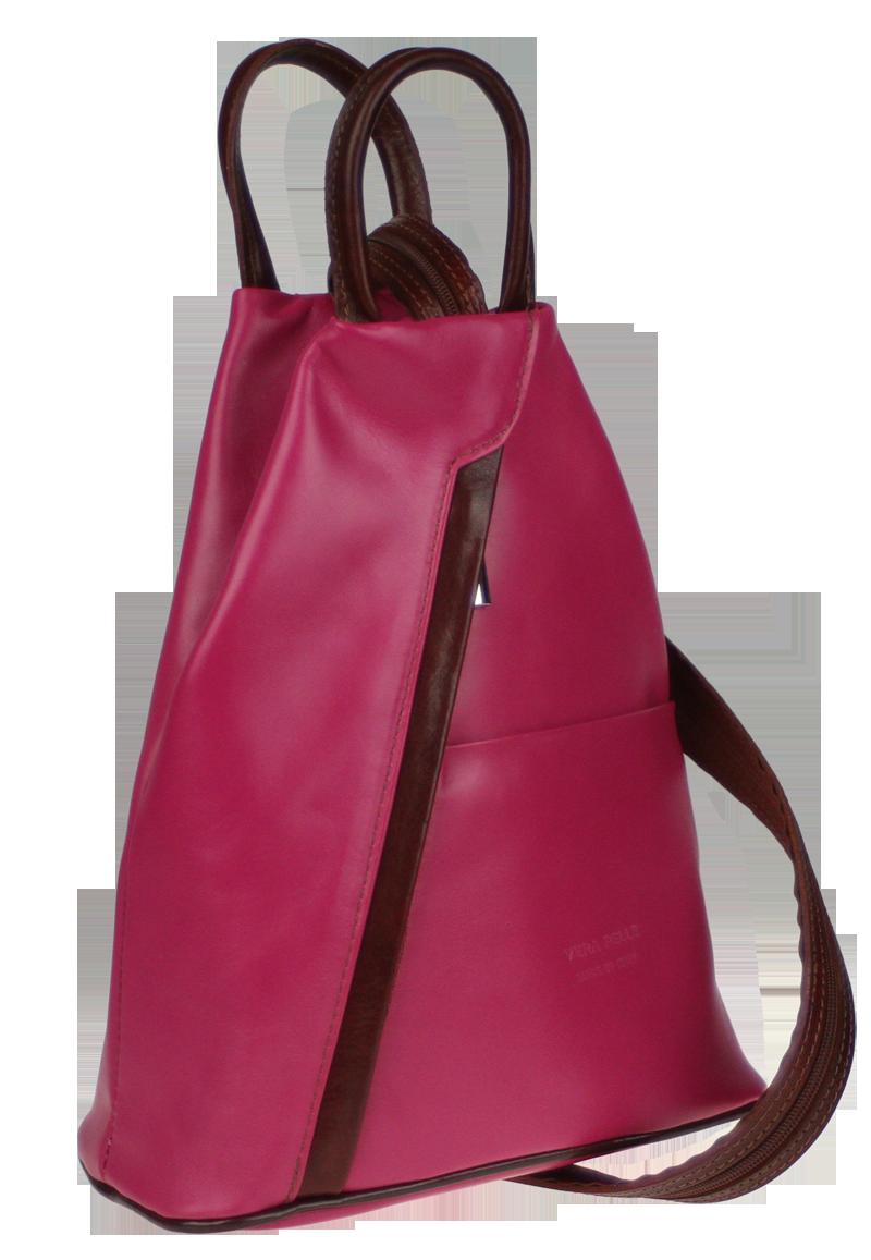Kožený batůžek Mea Rosa