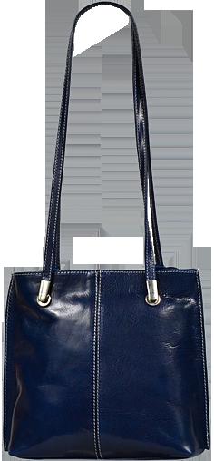 dámský kožený batůžek Dora Blu