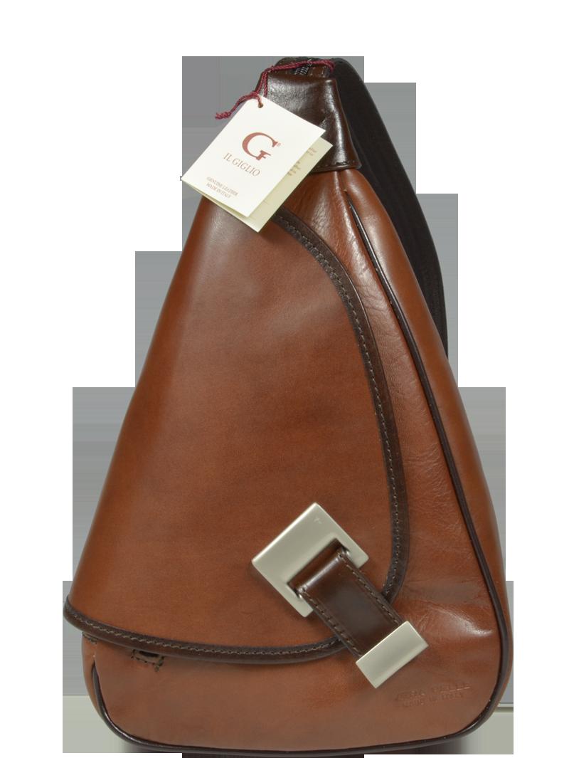 Kožený batůžek Appia Camel Marrone