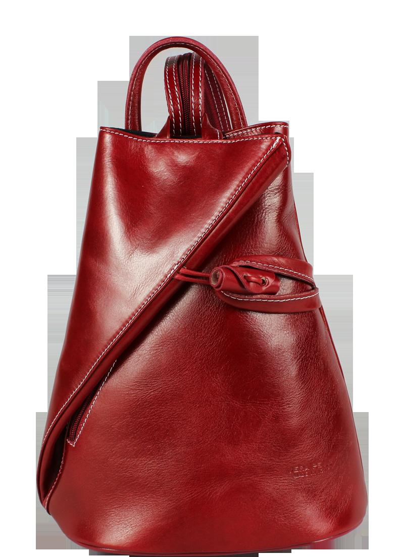 kožený batoh Nilde Rossa kožený batoh Nilde Rossa