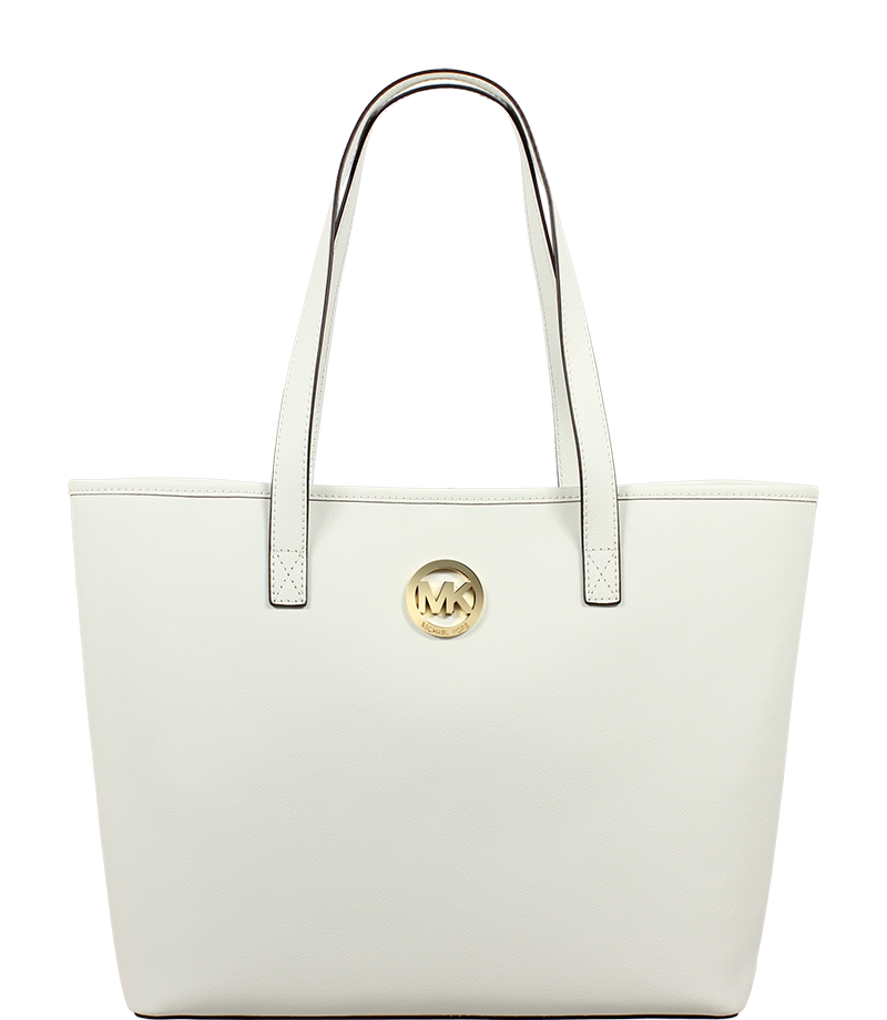 kabelky od Michael Kors MD Travel Tote Optic White kabelky od Michael Kors MD Travel Tote Optic White