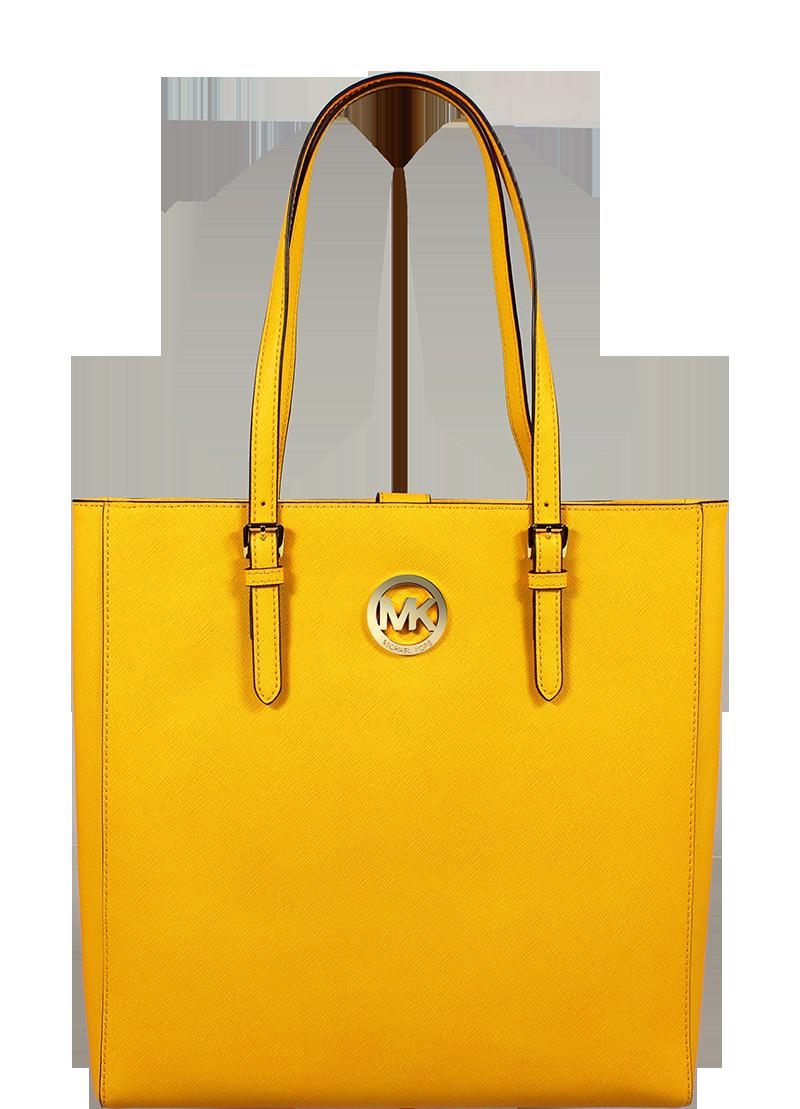 luxusní kabelky Michael Kors NS Tote Vint Yellow luxusní kabelky Michael Kors NS Tote Vint Yellow
