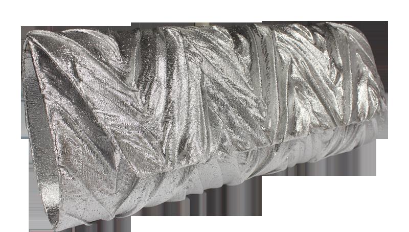 ea6e38f008a8 Stříbrné plesové kabelky MQ0969 LT.Silver