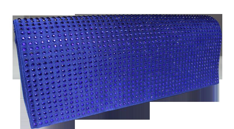 Modré plesové psaníčko MQ11433 Blue