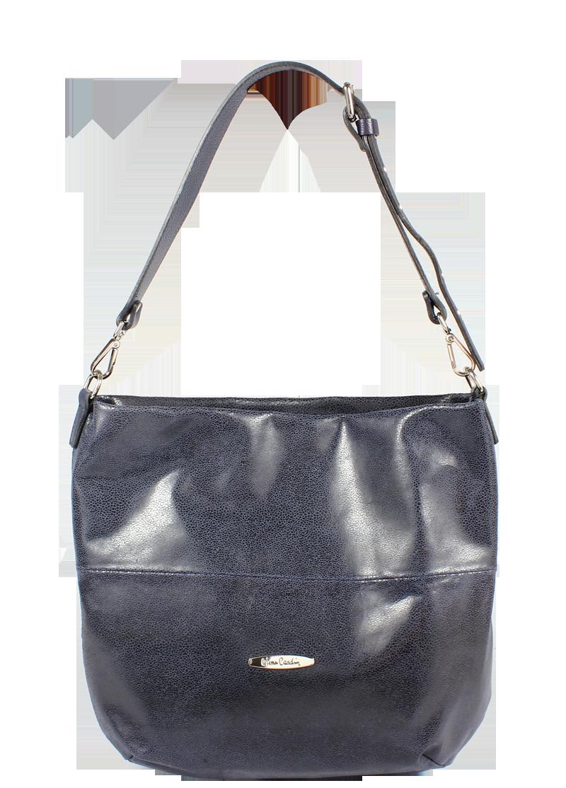 Italská kožená kabelka Pierre Cardin 1487 Brina Navy