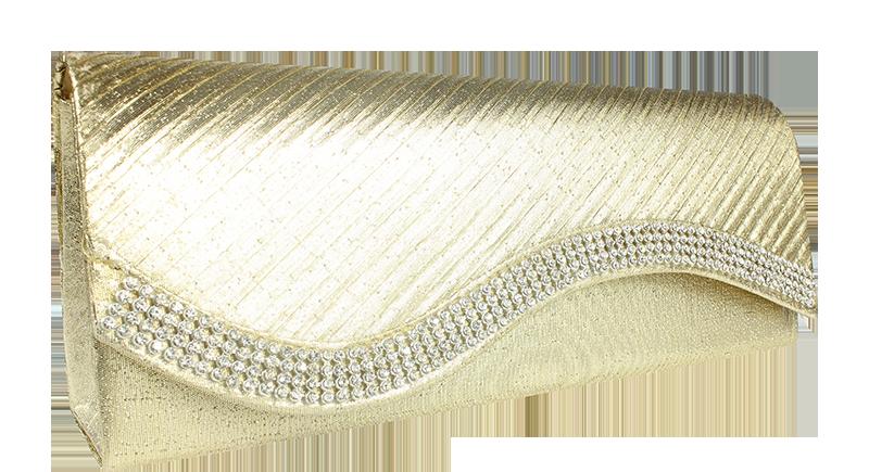 Plesová kabelka MQ20029 LT.Gold