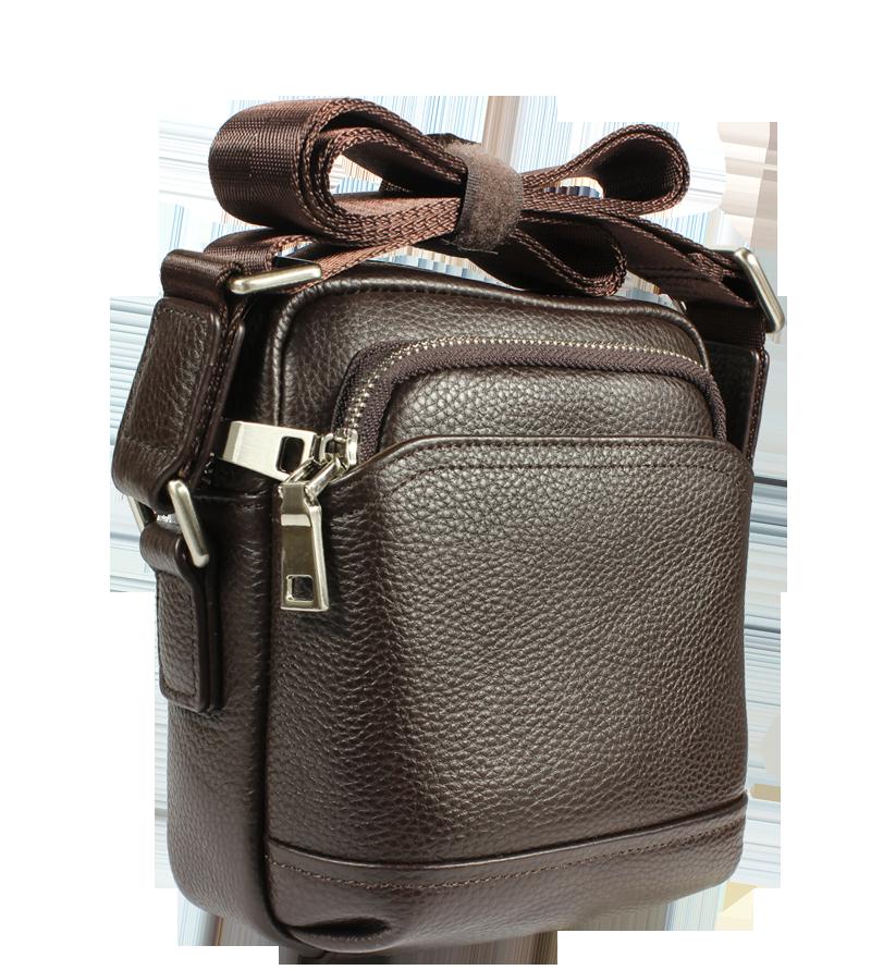 Pánská kožená taška přes rameno Gigi Piccola Cafe Pánská kožená taška přes rameno Gigi Piccola Cafe