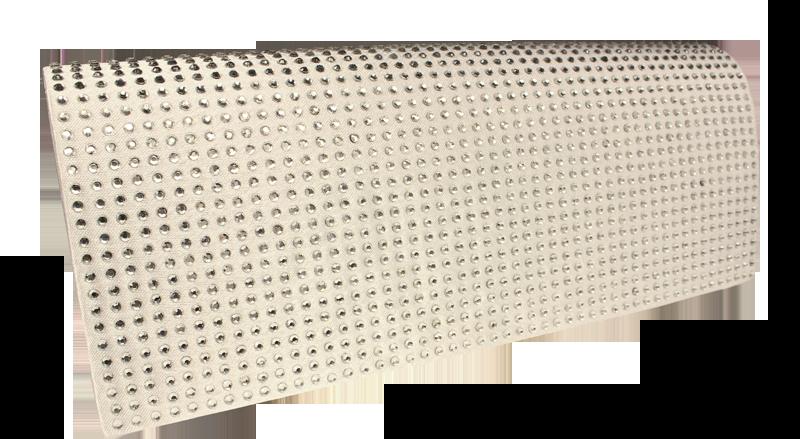 Plesová kabelka MQ 11433 White Rice