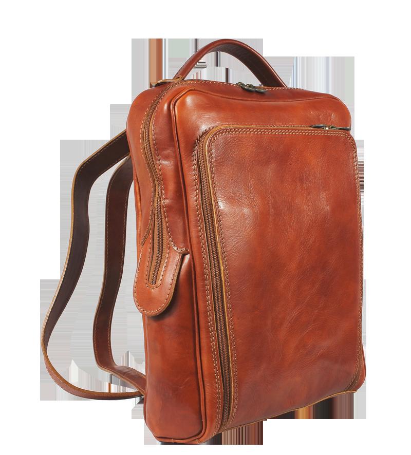 Pánske kožené batohy