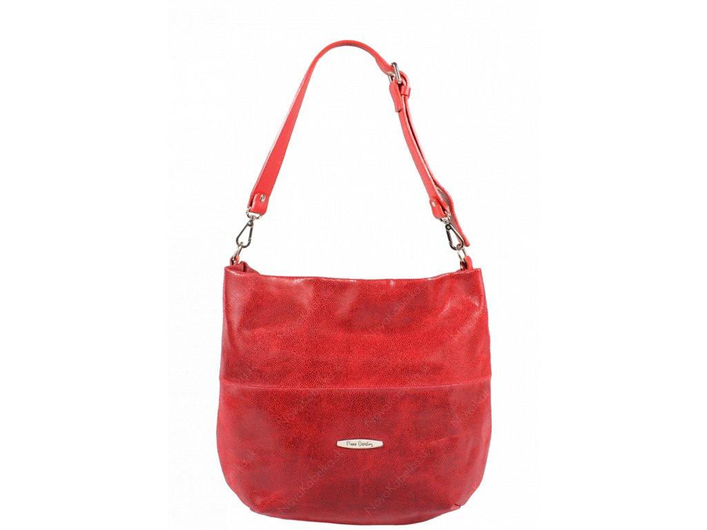 Talianská kožená kabelka Pierre Cardin 1487 Brina Campari