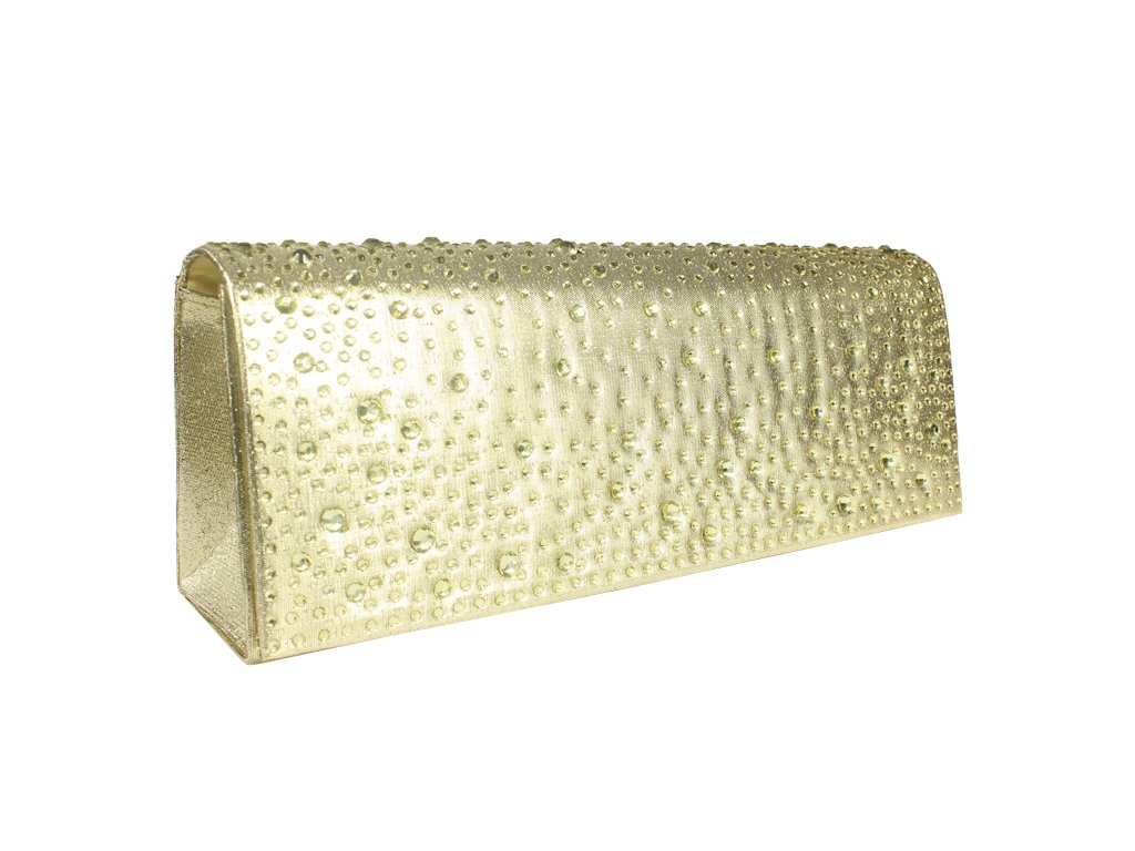 Plesová kabelka MQ11654 LT. Gold