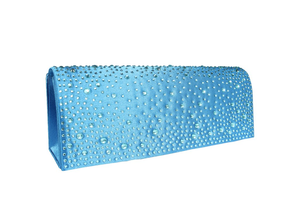 Plesová kabelka MQ11654 Sky Blue