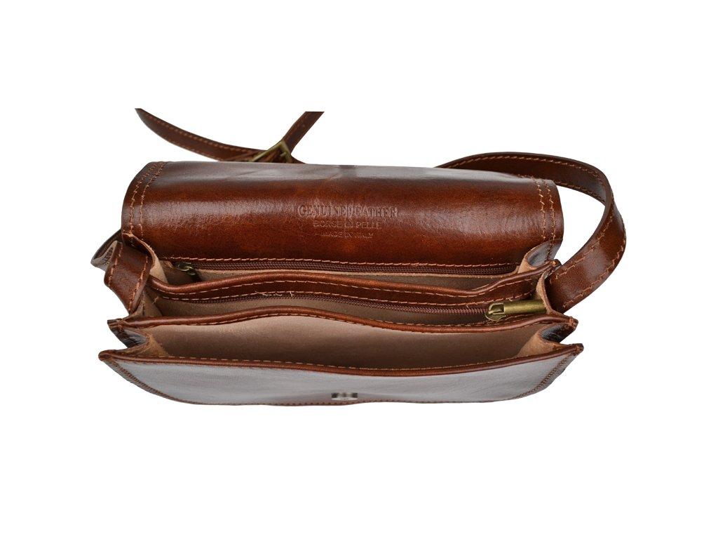 2691d4c0db7e8 Marzia Marrone Scura - Talianske kožené kabelky