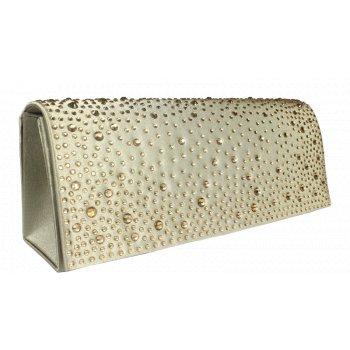 Plesová kabelka MQ11654 Khaki 4fe6a5283e0