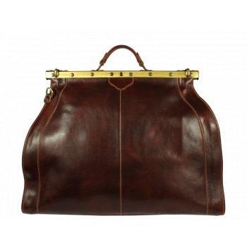 kožená taška předek