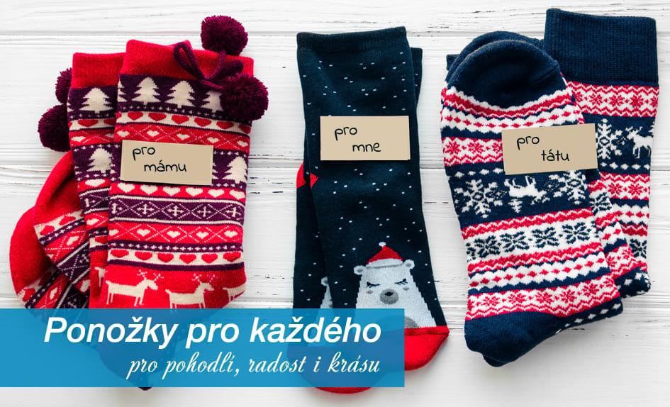 ponožky pro každého