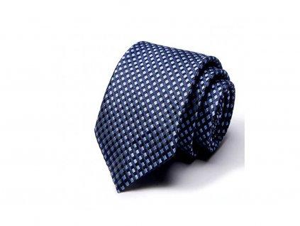 kravata modra george 0012a