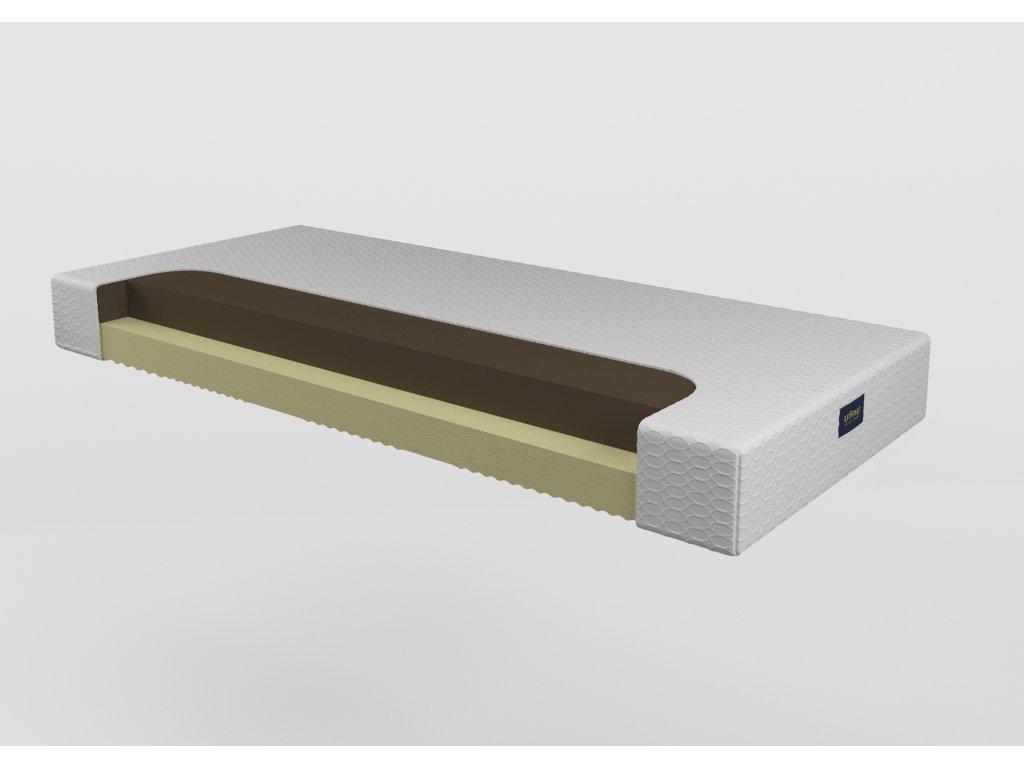 Senzácia 18 - penový matrac (poťah elastic, Rozmery (šírka x dĺžka) 100 x 200 cm)
