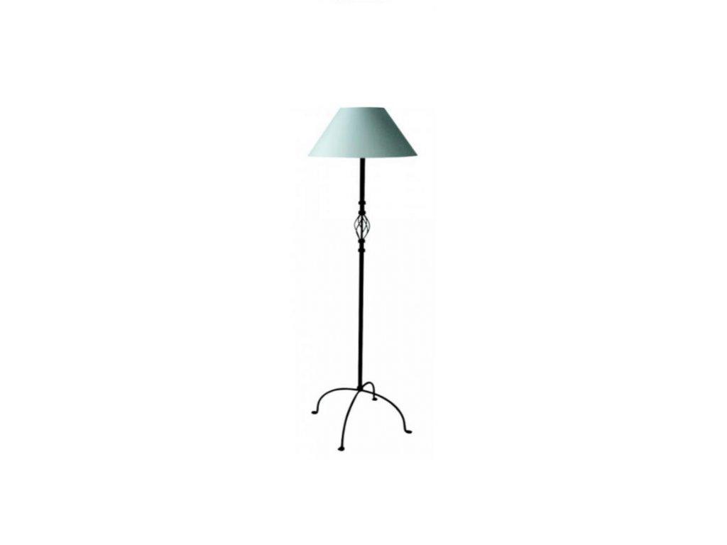 1934 1 single lampa vysoka masivni zelezo